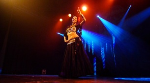 Jorunn at GypsyTanzen Show 2010