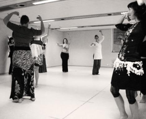 General Skills dance practice every evening