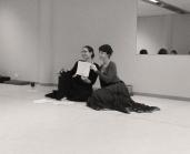 Carolena and Jorunn still posing