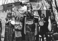 Rhea with sword, 1971