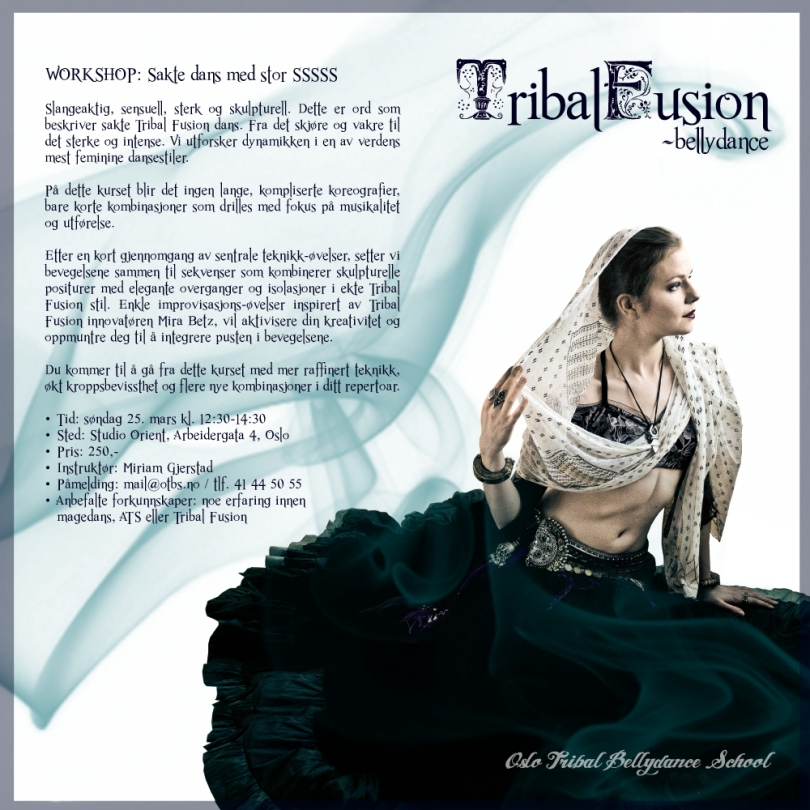 Workshop: Tribal Fusion sakte dans med stor SSSSS