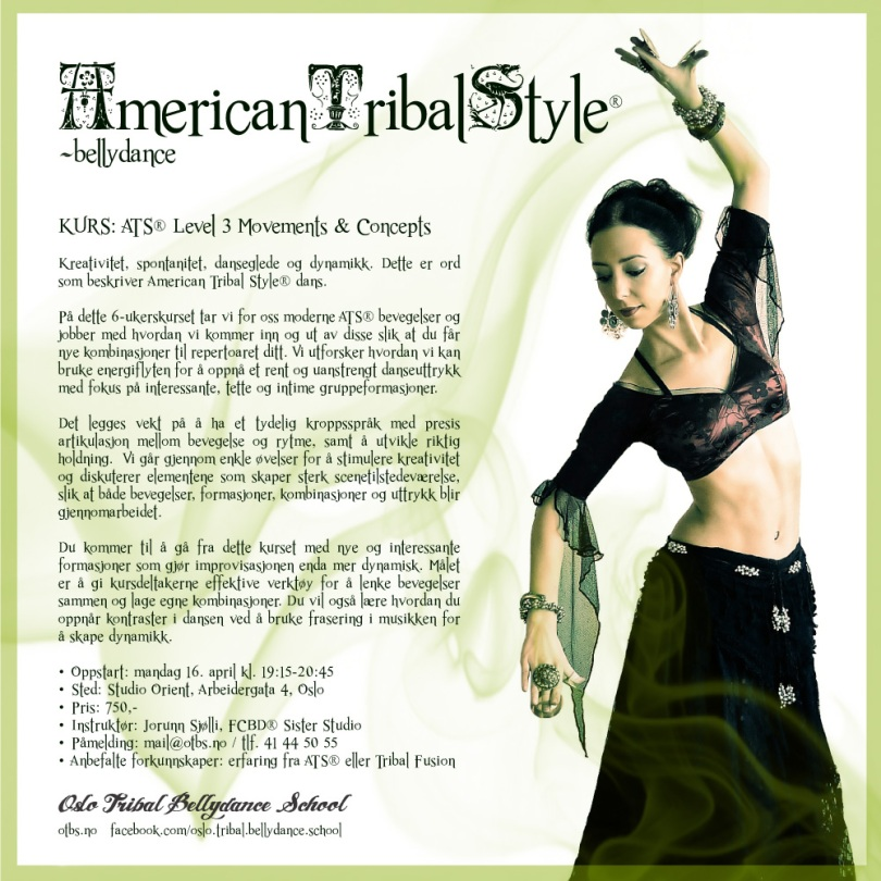 Kurs: American Tribal Style® Level 3 Movements & Concepts