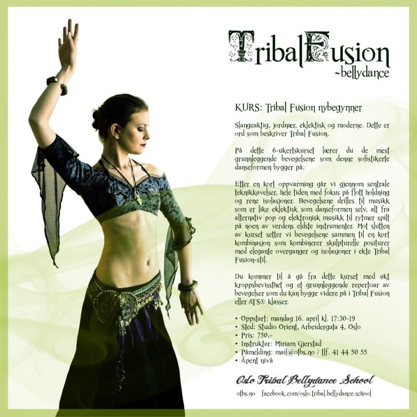 Kurs: Tribal Fusion nybegynner