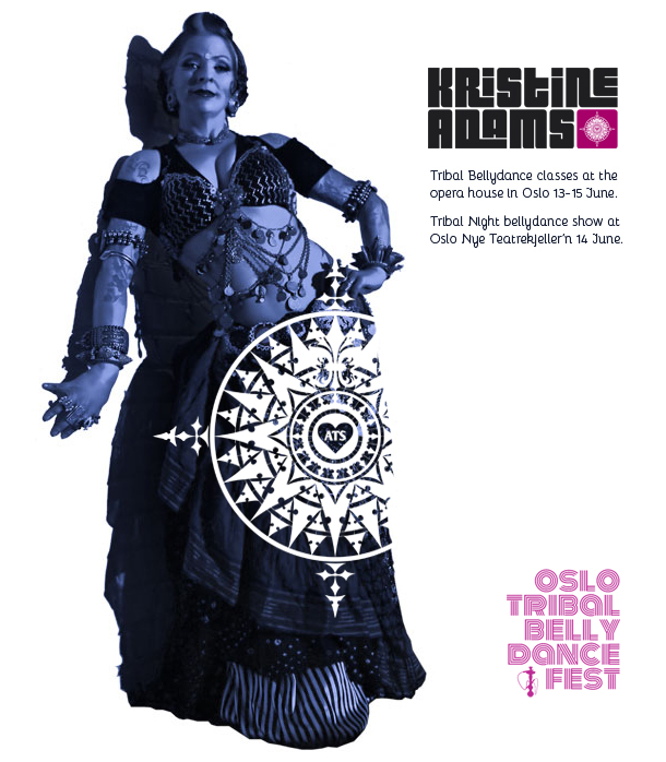 Kristine Adams til Oslo Tribal Belly Dance Fest