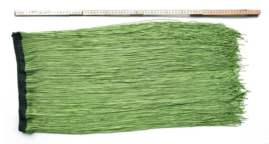 Eplegrønt frynsebelte