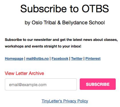 Oslo-Tribal-Bellydance-School-newsletter