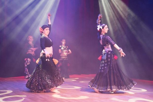 ATS-dansere fra Oslo Tribal & Bellydance School, foto Andreas Ulvo